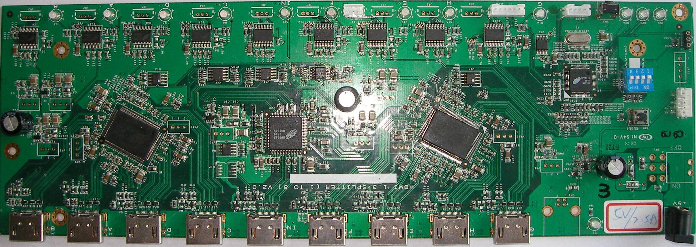 HDMI 2.0 4K2K 60HZ 分配器